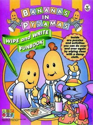 Bananas Wipe & Write Funbook