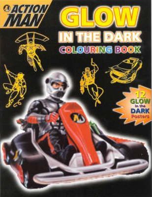 Action Man Glow in the Dark Colouring Book