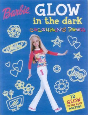 Barbie Glow in the Dark Colouring Book