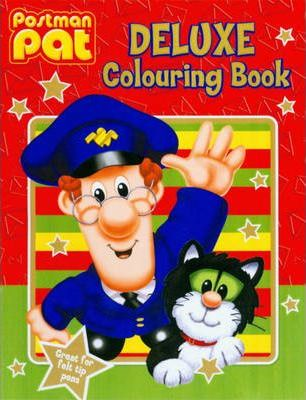 Postman Pat Deluxe Colouring Book