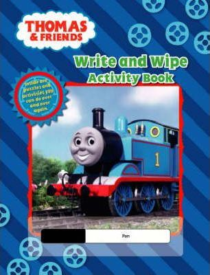 Thomas and Friends Write and Wipe Activity Book