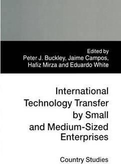 International Technology Transfer by Small and Medium-sized Enterprises