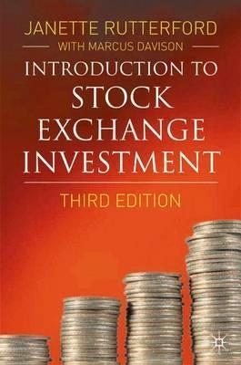 Introduction to Stock Exchange Investment