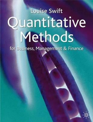 Quantitative Methods Management Book
