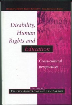 disability human rights and education armstrong felicity barton len
