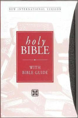 NIV Popular Bible with Bible Guide Black bonded leather with slipcase