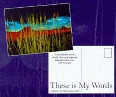 These is My Words Postcard (Pack of 50)