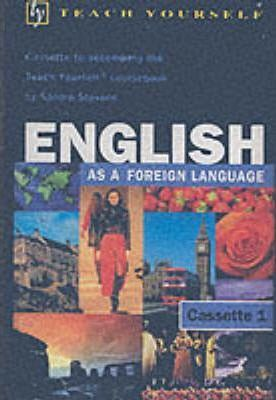 Teach Yourself English (as a Foreign Language) book/double cassette pack
