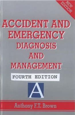 Accident and Emergency, 4Ed