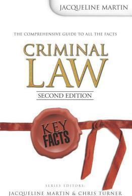 Key Facts Criminal Law 2nd Edition