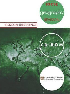 IGCSE Geography: Revision CD-Rom Single User