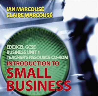 Edexcel GCSE Business: Teachers Resource Unit 1