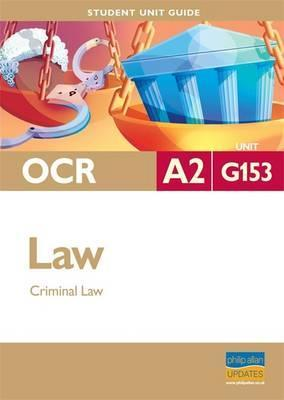 OCR A2 Law: Unit G153