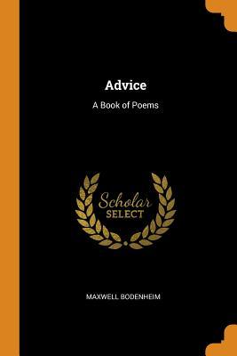Advice  A Book of Poems