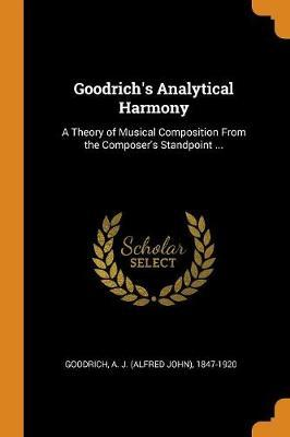 Goodrich's Analytical Harmony
