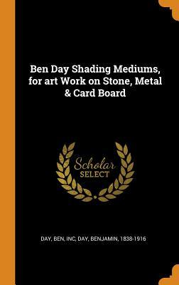 Ben Day Shading Mediums, for art Work on Stone, Metal & Card Board