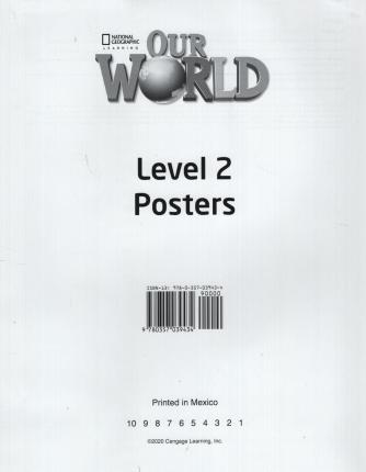 OUR WORLD AME 2 POSTER SET