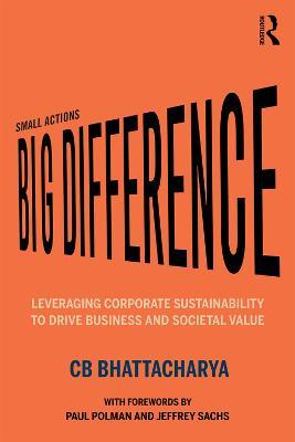 Small Actions, Big Difference  Leveraging Corporate Sustainability to Drive Business and Societal Value