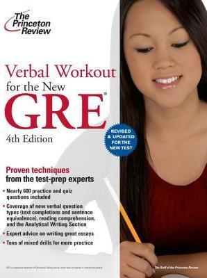 Verbal Workout for the New GRE, 4th Edition