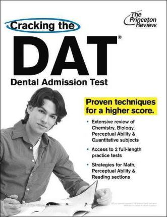 cracking the dat dental admission test princeton review