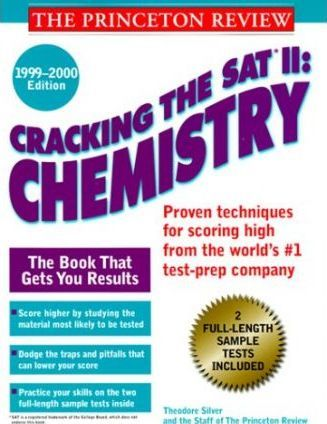 Cracking the Sat II Chemistry Subject Test