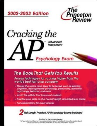 Cracking the AP Psychology, 2002-2003 Edition