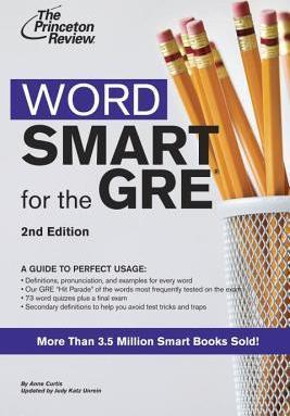 Word Smart for the GRE : Princeton Review : 9780375765773