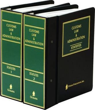 Customs Law and Administration