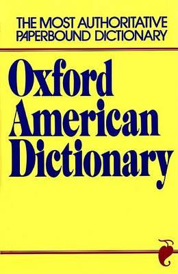 Oxford American Dictionary : Eugene Ehrlich : 9780380510528