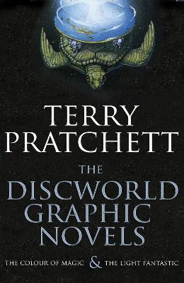 the discworld graphic novels the colour of magic and the light