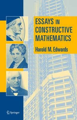 essays on constructive mathematics Download and read essays in constructive mathematics essays in constructive mathematics the ultimate sales letter will provide you a distinctive book to overcome you.