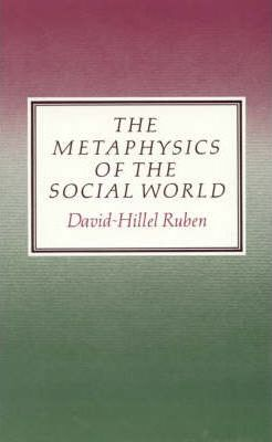 The Metaphysics of the Social World