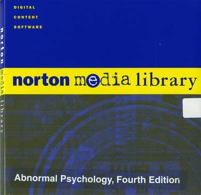 Abnormal Psychology: Norton Media Library