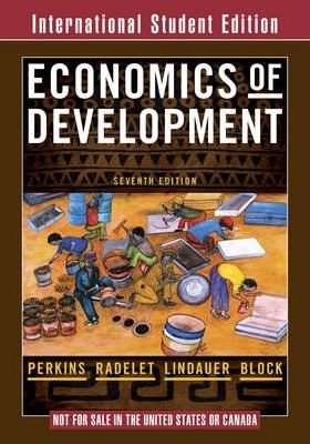Economics of Development 7E International Student Edition