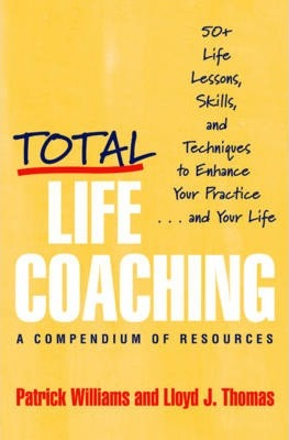 Total Life Coaching - Patrick Williams, Lloyd J. Thomas