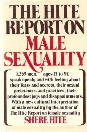 Hite report male sexuality