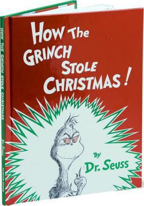 The Grinch Who Stole Christmas Book.How The Grinch Stole Christmas Dr Seuss 9780394800790