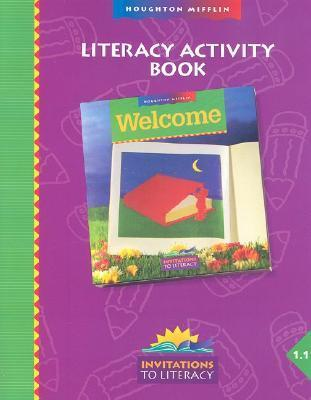 HM Welcome Literacy Activity Book Level 1.1