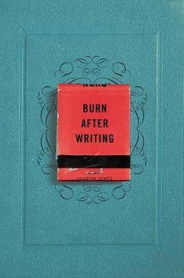 Burn After Writing Cover Image