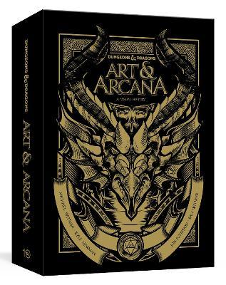 Dungeons and Dragons Art and Arcana: Special Edition, Boxed Book and Ephemera Set : A Visual History