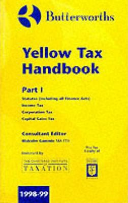 Butterworths' Yellow Tax Handbook 1998-99: Vol 1