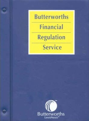 Butterworths Financial Regulation Service: Insurance, Lloyd's and Friendly Societies Volume 6
