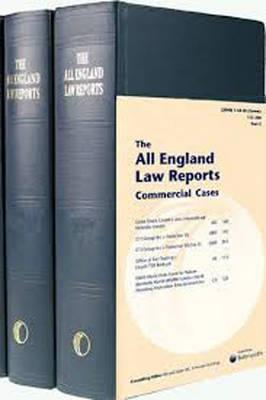 All England Commercial Cases Volume Set 1999 to date