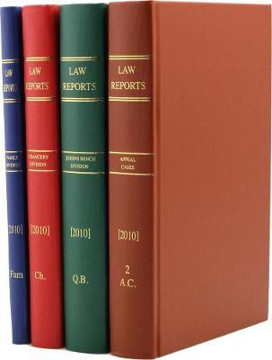 The Law Reports Complete Set 1865-Present