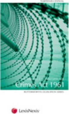 Butterworth's Crimes Act 1961