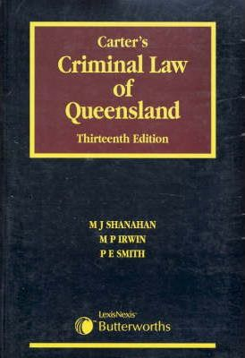 Carter's Criminal Law in Queensland