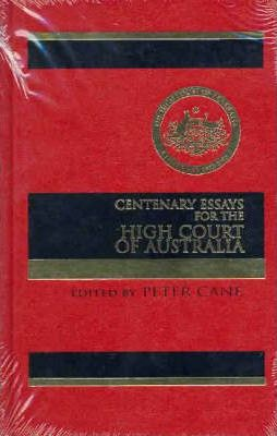 centenary essays for the high court of australia