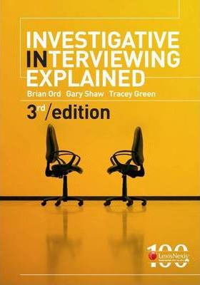Investigative Interviewing Explained
