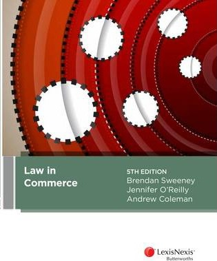 Law in commerce andrew coleman 9780409334449 fandeluxe Image collections