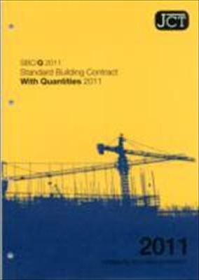 JCT: Standard Building Contract with Quantities 2011